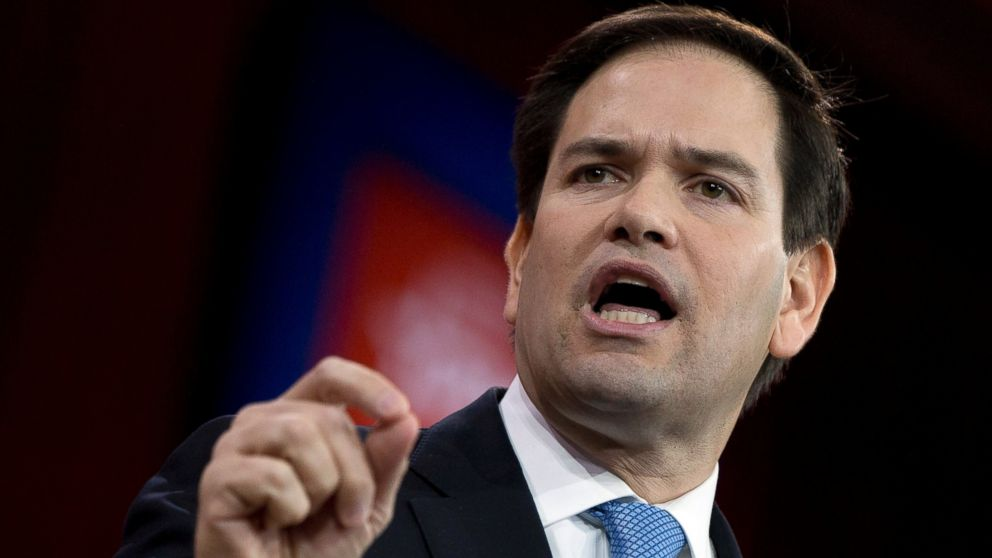 Rubio Angry Over White House Leak If You Dont Like Working for the President You Should Resign VIDEO