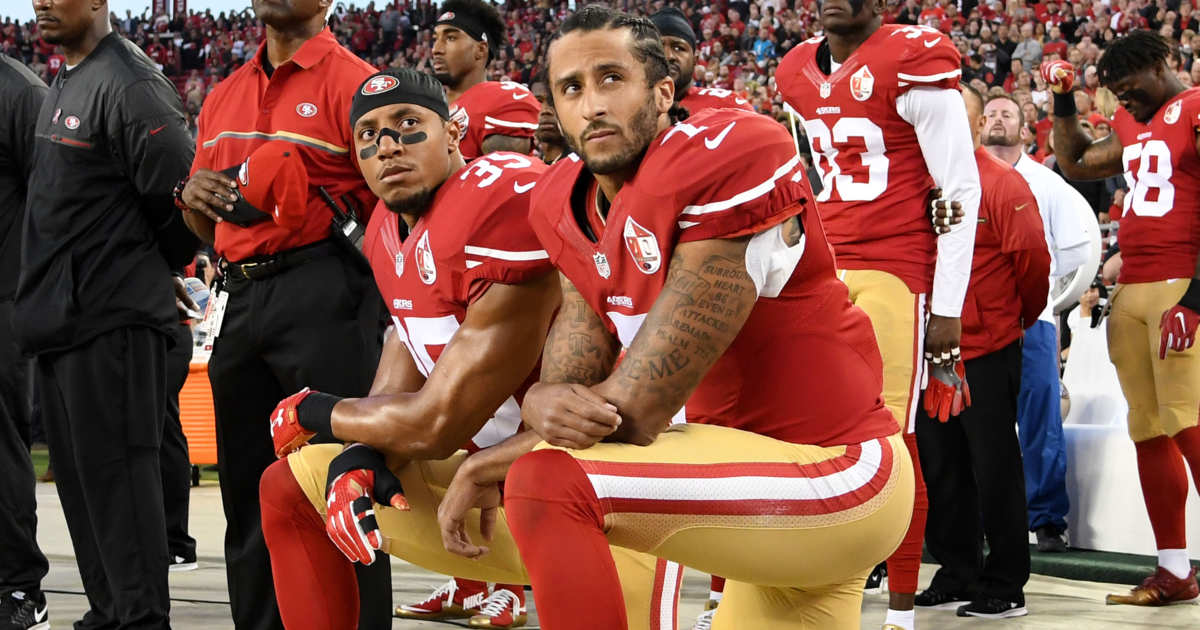 Kneeling in the presence of the American flag is something we've seen happen all too frequently nowadays, usually as a political statement and typically around some sort of sporting event. This doesn't sit well with patriotic Americans. The NFL in particular found this out the hard way, after anthem protests threw the league's 2017 season into turmoil …