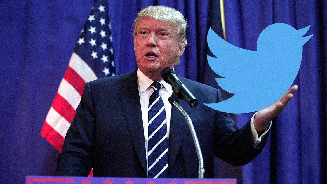 Censorship Twitter Blocks Trumps 2020 Slogan as Sensitive Material