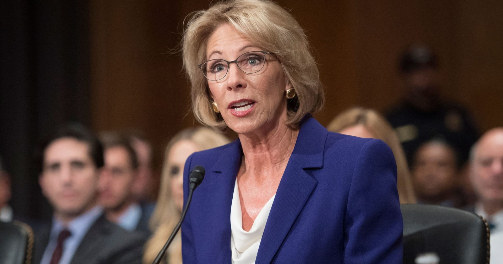 Sportswriter Attacks Betsy DeVos Tells Her She Should Be Cleaning Houses