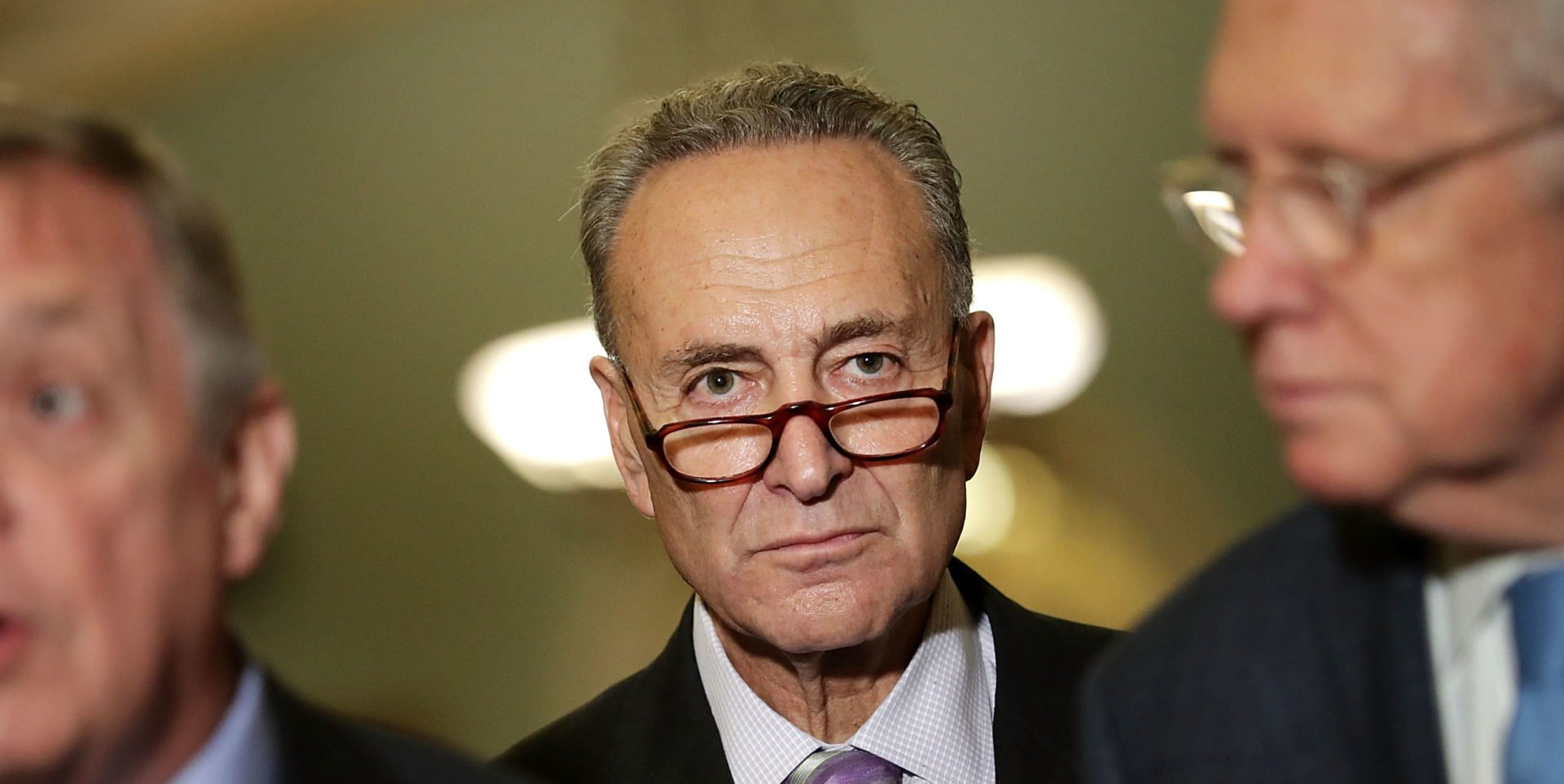 Schumer Lays Out the Red Line for Trumps Issues With Mueller
