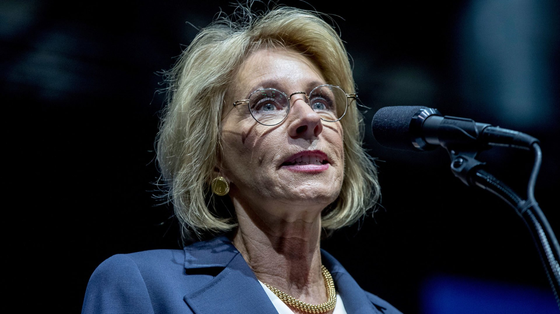 Dem Lawmaker Betsy DeVos Is Rich White and Dumber Than a Bag of Hammers