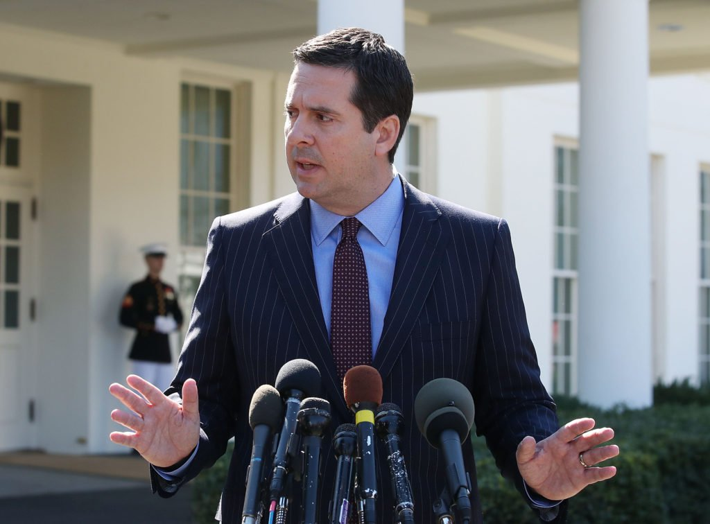 Democrats on the House Rules Committee expressed frustration when House Intelligence Committee Chairman Devin Nunes RCalif was allowed to leave a panel