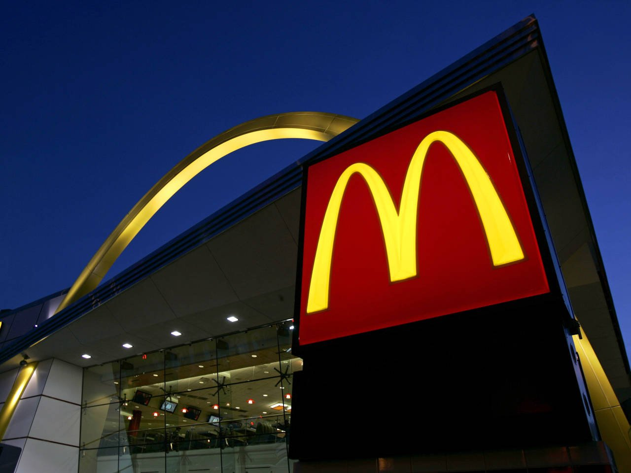 McDonalds Golden Arches Get Flipped Upside Down To Make Social Statement