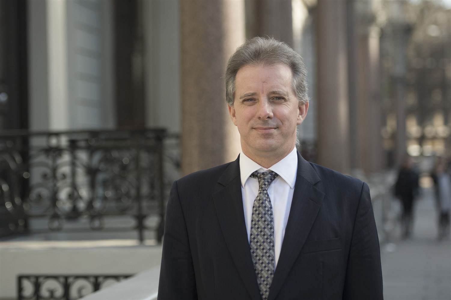 FiftyFifty Christopher Steele Is Unsure About Trump Golden Showers Tape