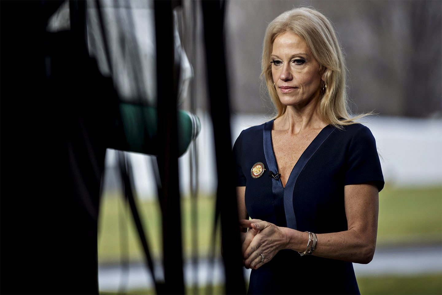 Kellyanne Conway Ridiculous to Say Trump Isnt Tough on Russia After Diplomat Expulsion VIDEO