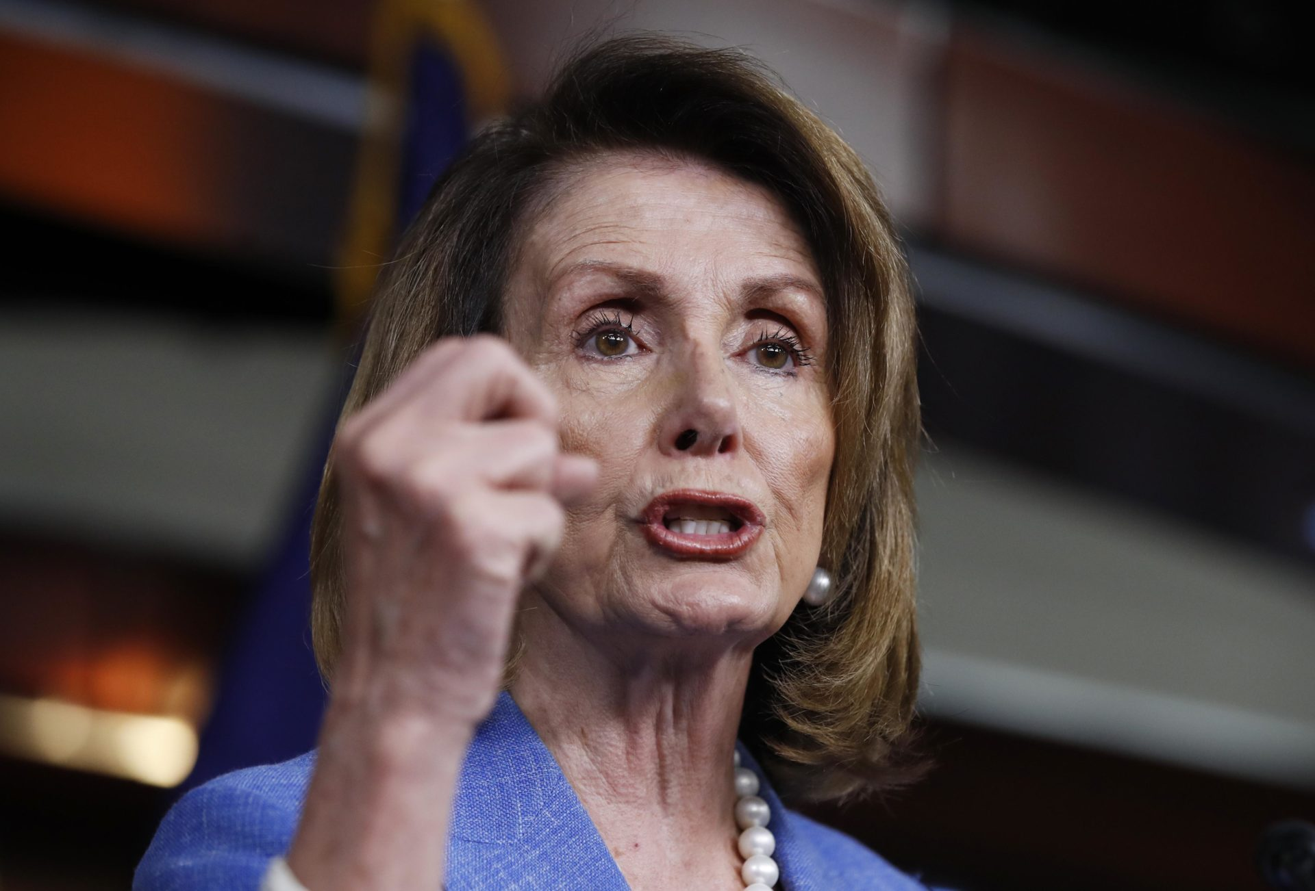 Pelosi I Eat Nails for Breakfast Don a Suit of Armor to Fight Inequality VIDEO