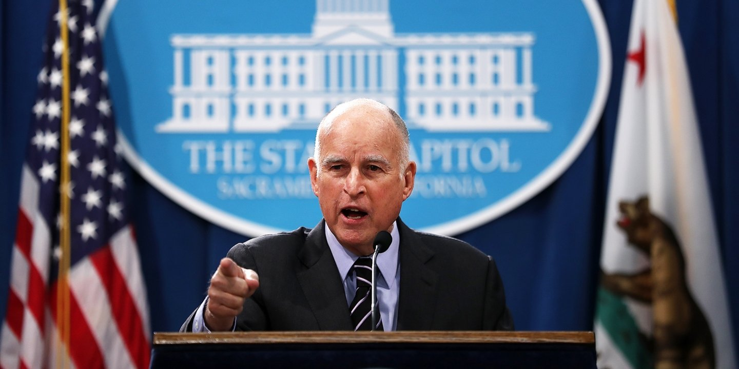 Jerry Brown Calls Attorney General Jeff Sessions Gestapo on PBS