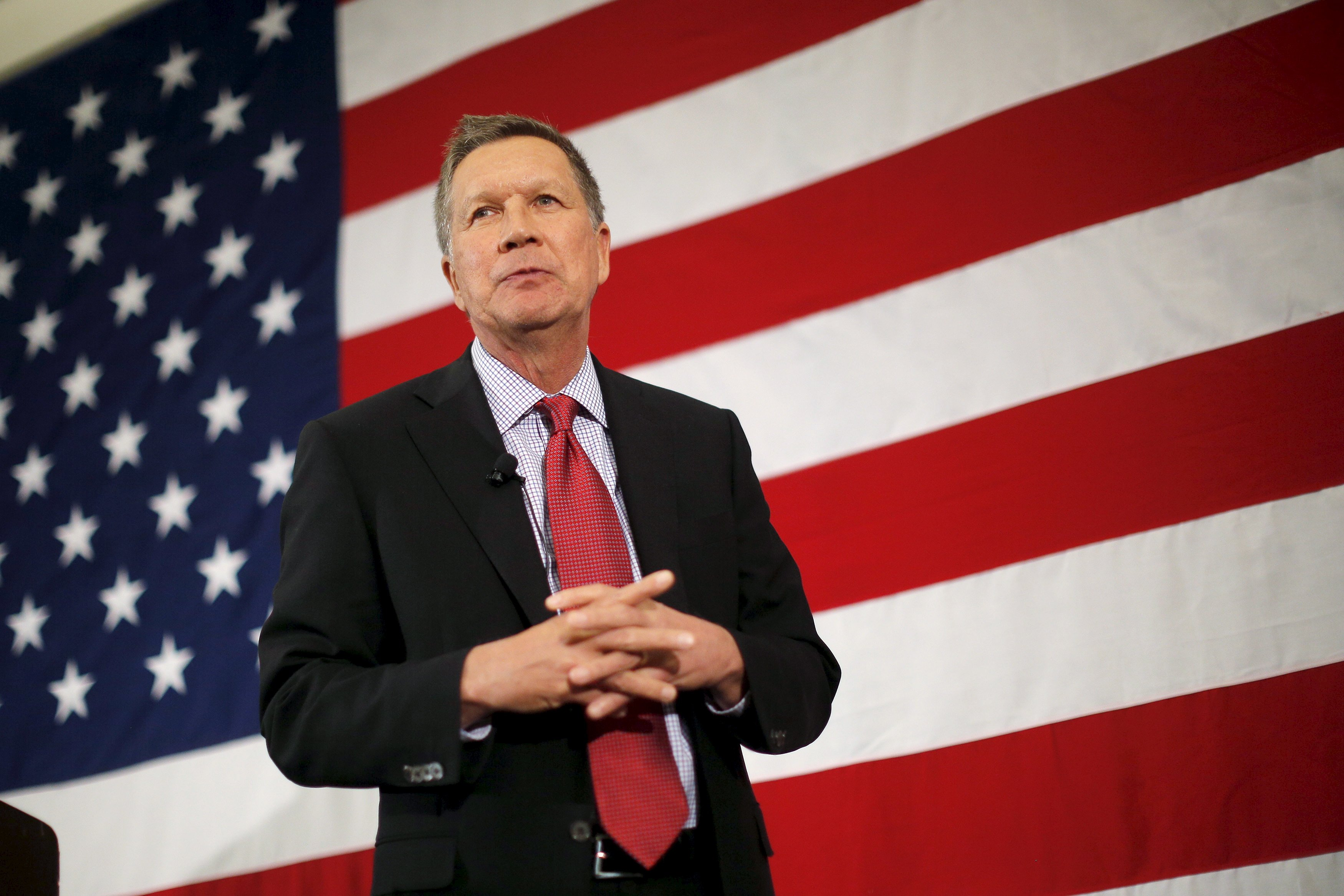 John Kasich coy on potential 2020 Trump primary challenge