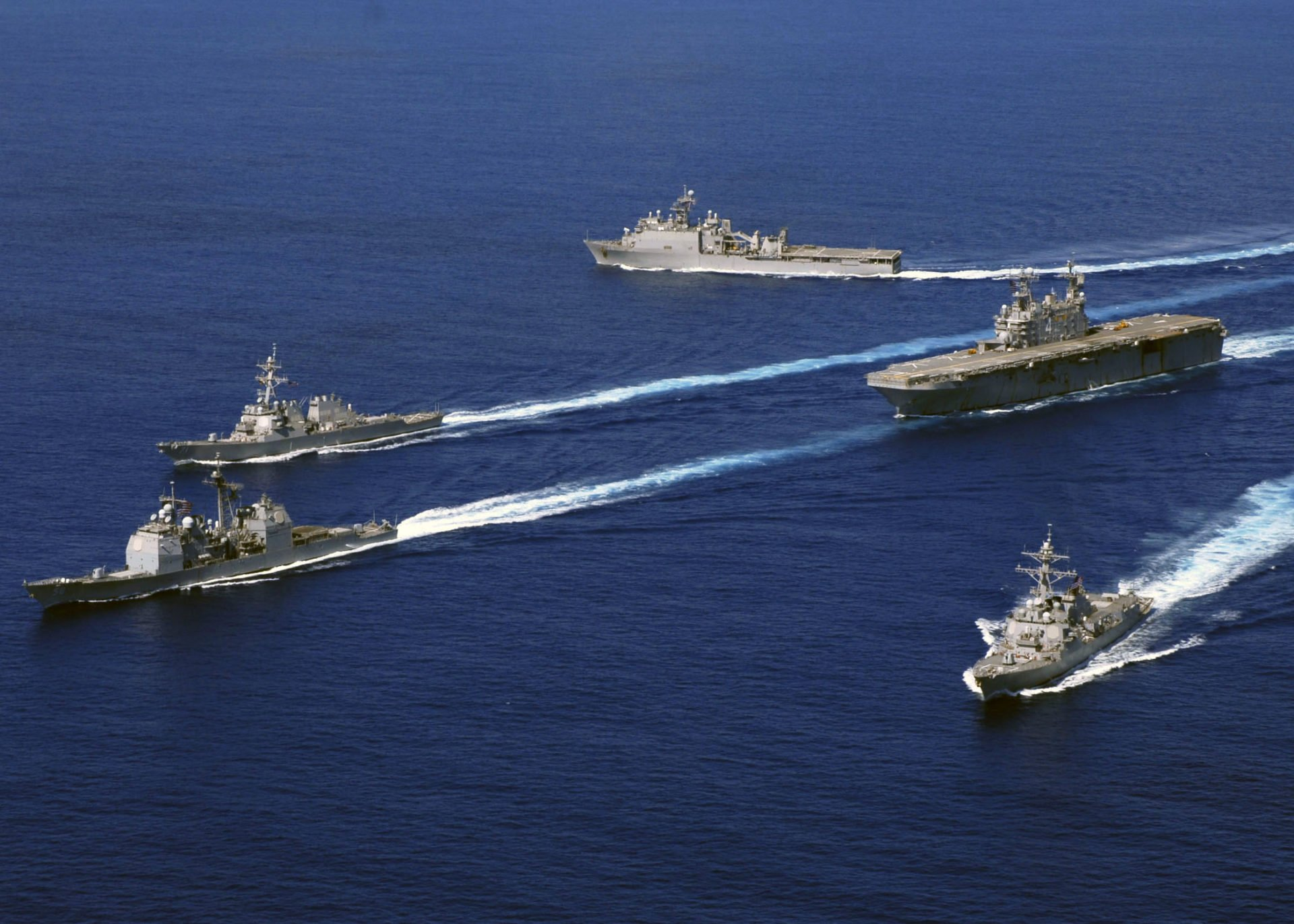 The U.S. Navy is standing its ground and said it will not leave the South China Sea despite new Chinese military facilities on artificial islands in the region.  Lt. Cmdr. Hawkins, on board the nuclear-powered USS Carl Vinson, said the Navy has carried out routine patrols in the South China Sea for 70 years, …