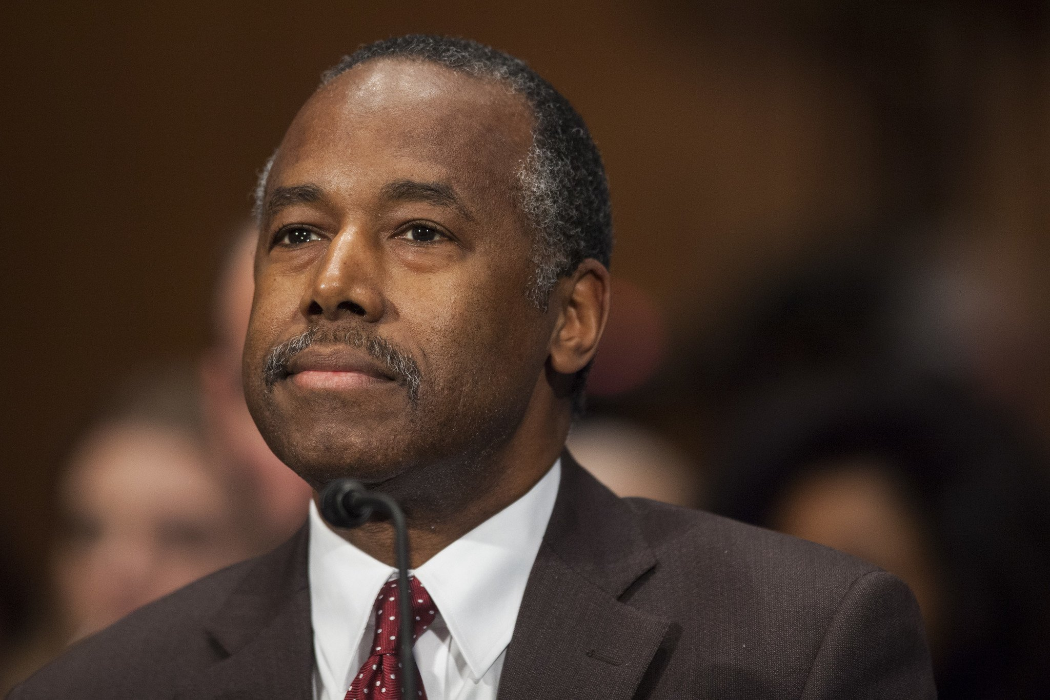 WATCH HUD Secretary Ben Carson Blames His Wife for Purchasing 31000 Dining Set