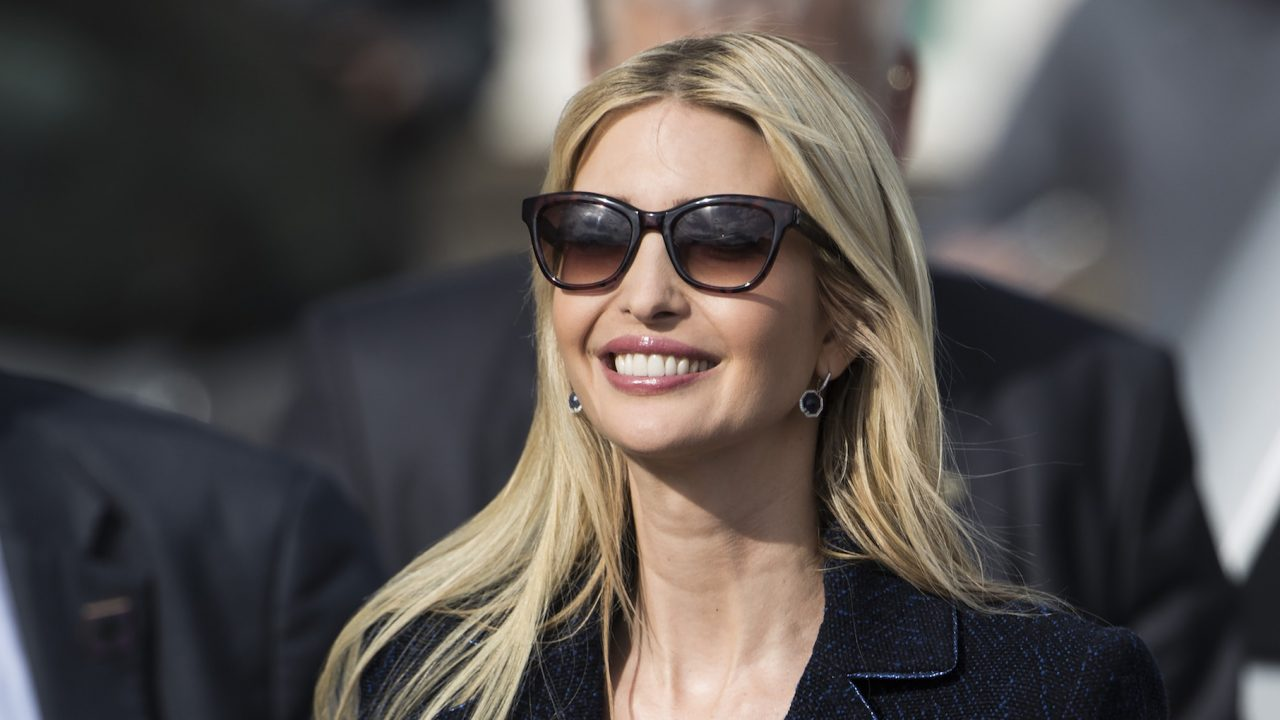 The Outfit Ivanka Wore To The WH Medal Ceremony Was Jaw