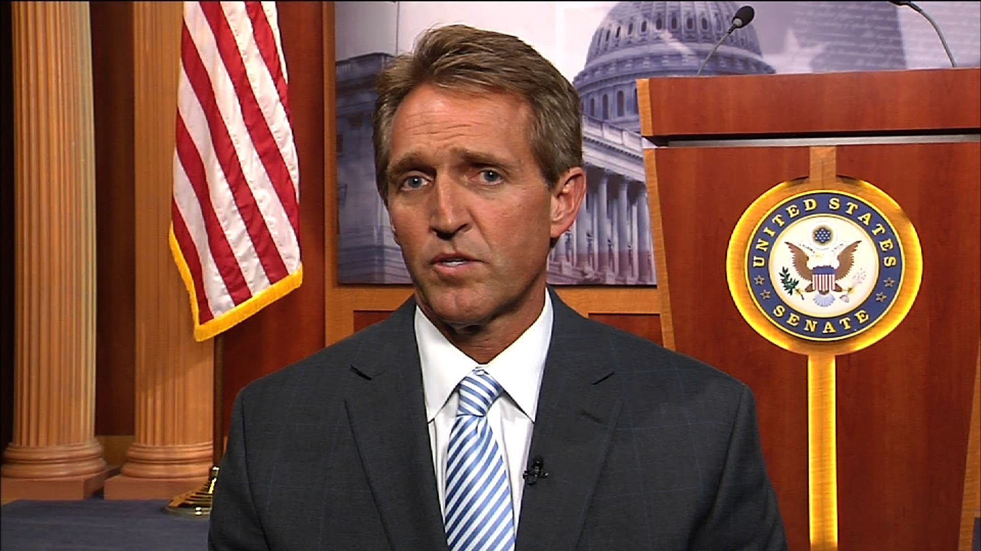 Jeff Flake I Might Back An Effort To Impeach Donald Trump