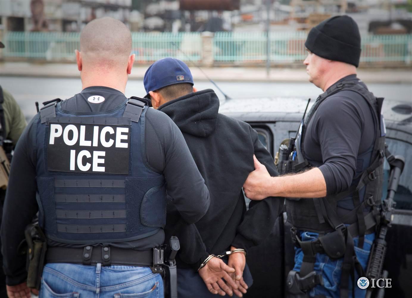 ICE Arrests 89 Criminal Illegal Immigrants in TexasOklahoma Sweep