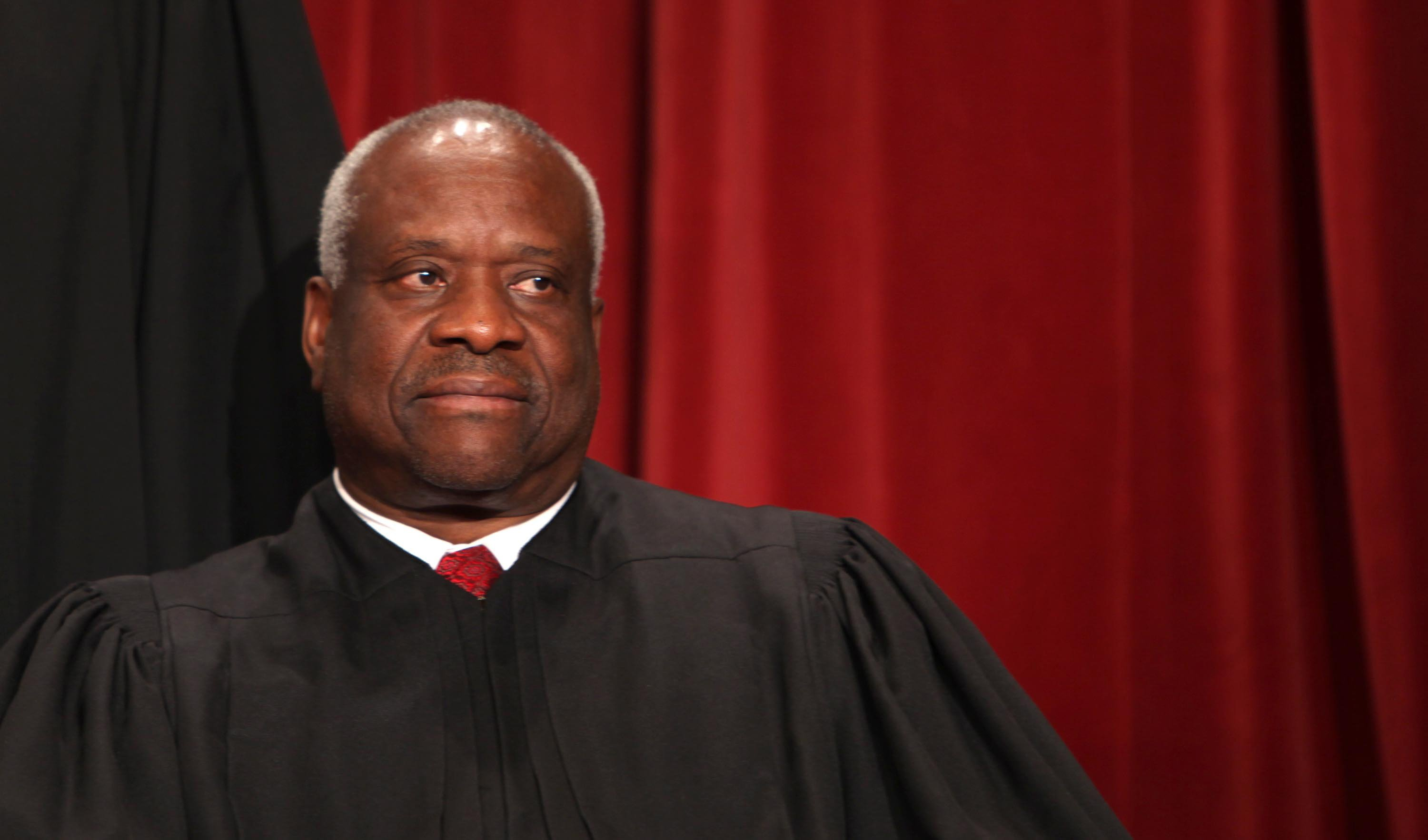 """Supreme Court Justice Clarence Thomas said in a rare public appearance Thursday he's exhausted with how everyone seems to consider themselves a victim these days. """"At some point, we're going to be fatigued with everybody being the victim,"""" Thomas, the second African American to serve on the Supreme Court, said during an on-stage interview at …"""