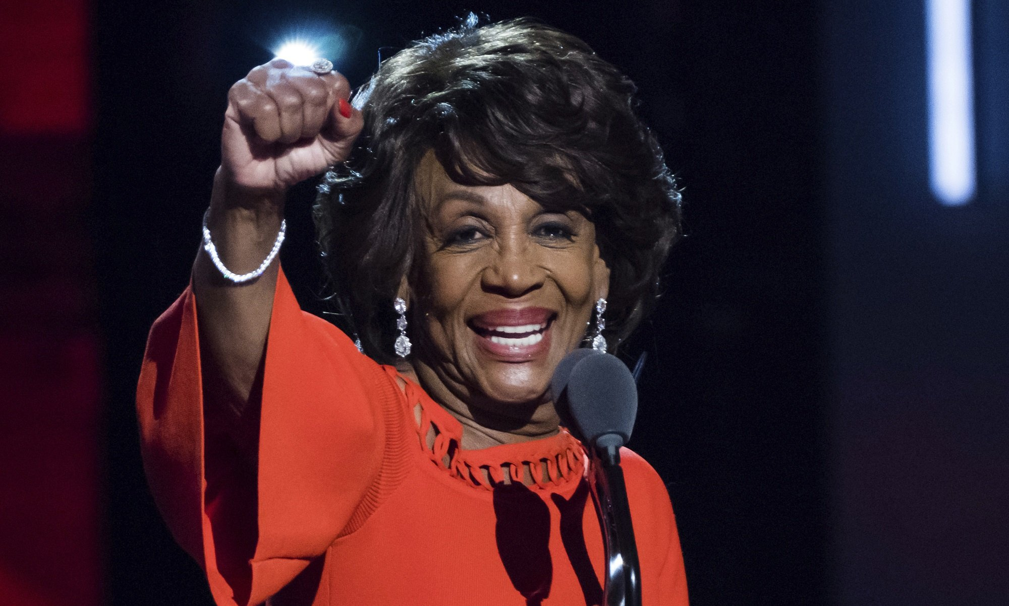 Maxine Impeach 45 Waters Receives National Unity Award