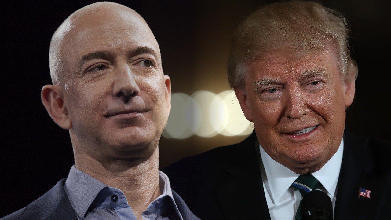 Trump Fake Washington Post is lobbyist for Amazon Bezos Running a Scam
