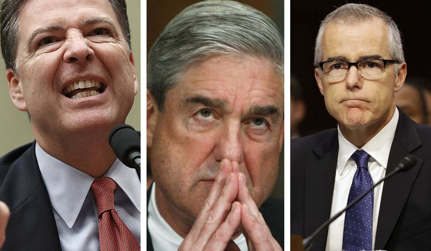 Trump Lands Verbal Roundhouse Kicks to Mueller McCabe  Comey