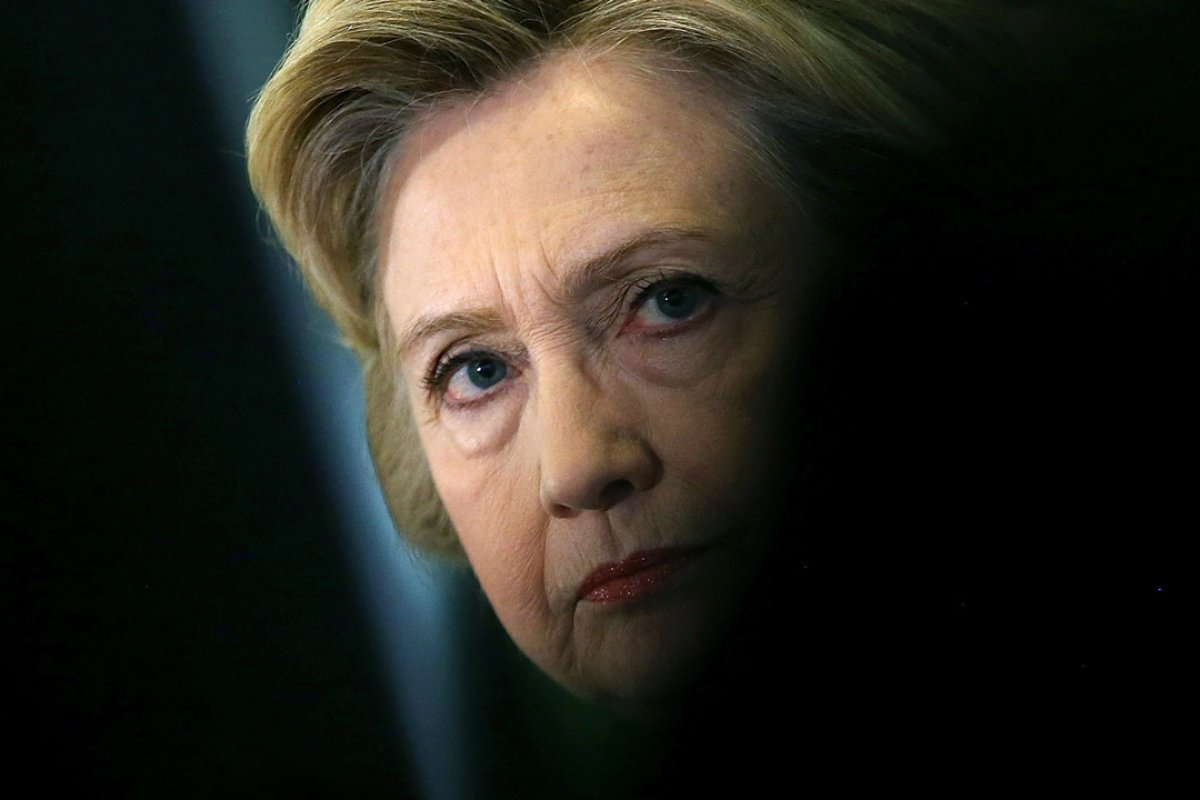 Hillary Says People Want Her to Go Away Because Shes a Woman