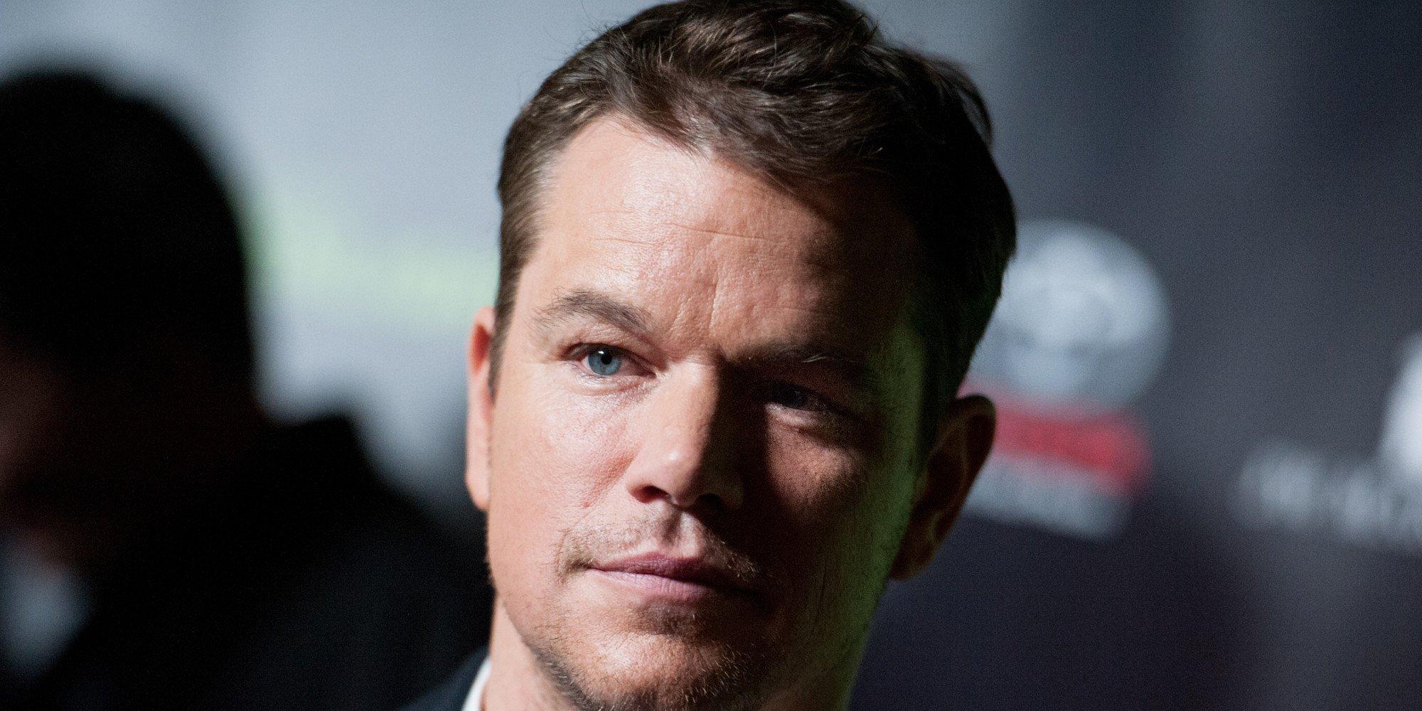 Matt Damon Delivers Moving Family To Australia Because Trump