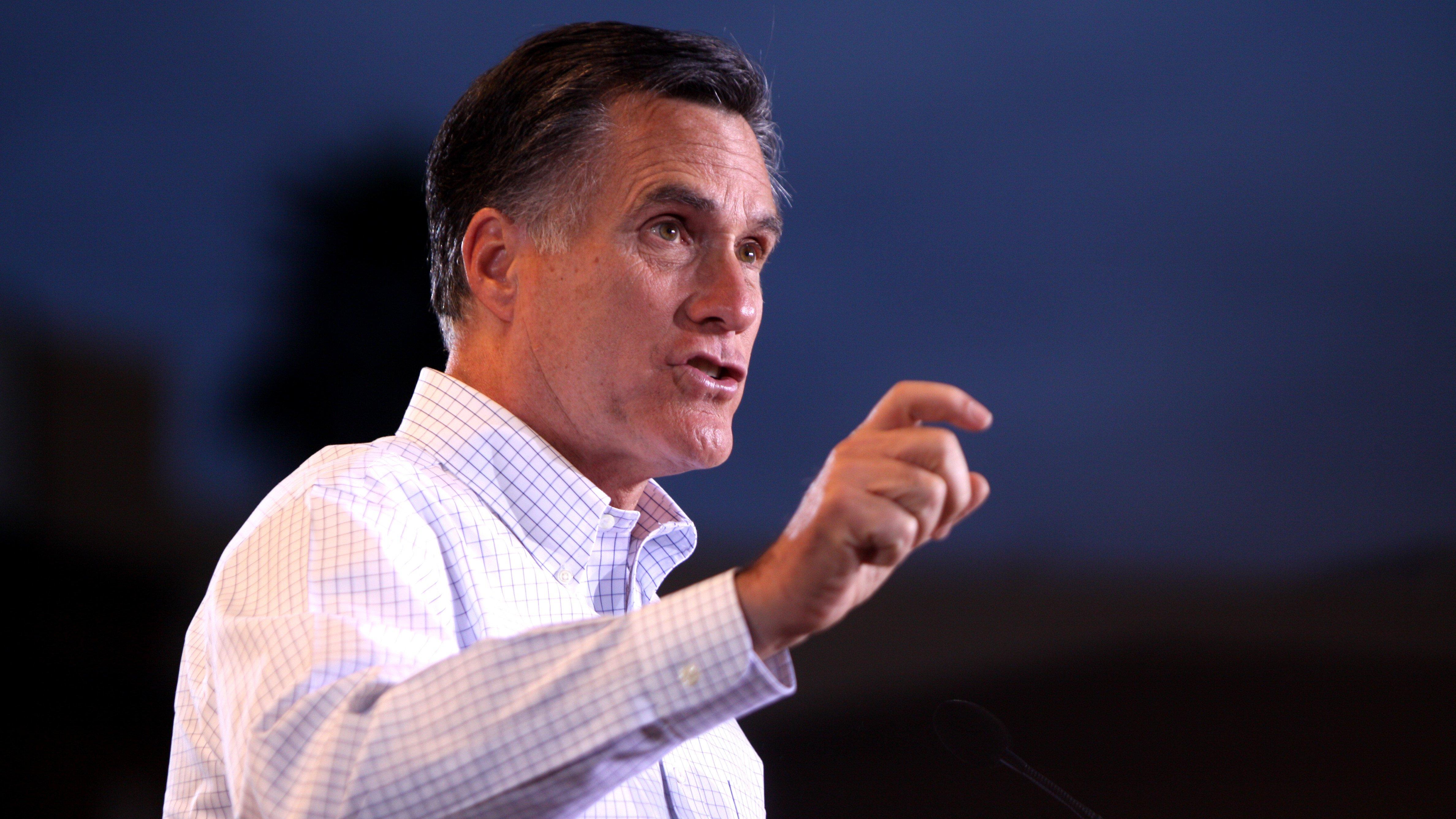 Mitt Romney Im more of a hawk on immigration than Trump