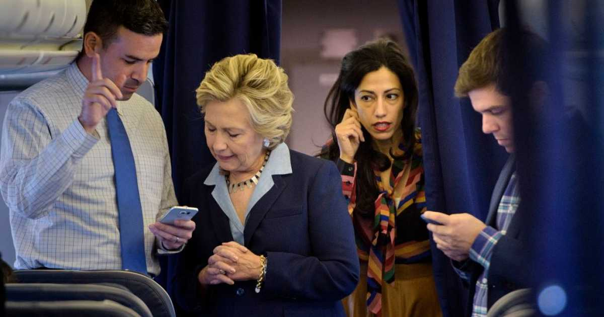 FBI Agents Interviewed Hillary Clinton Aide Huma Abedin In December 2016 More Than A Month