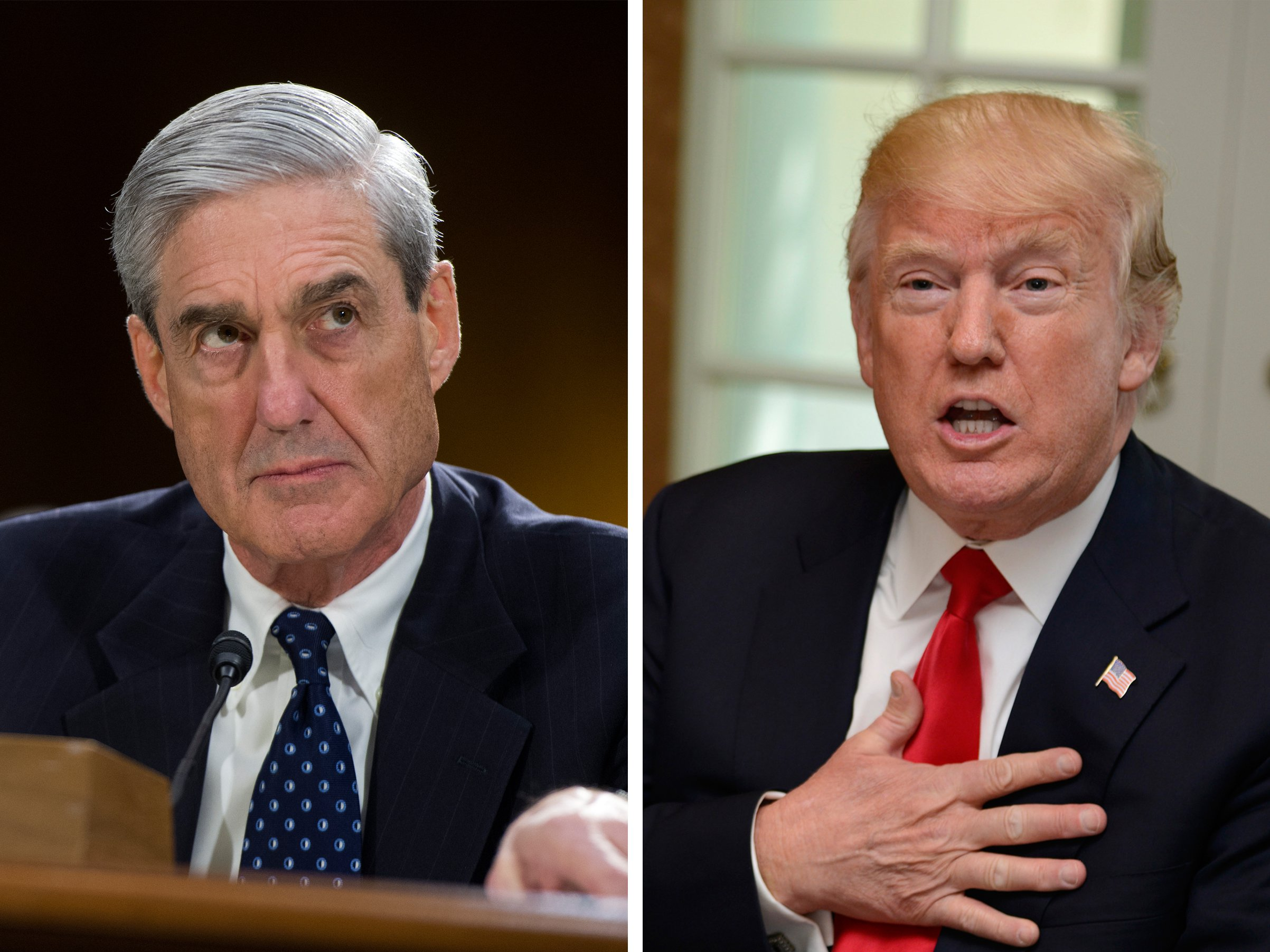 Mueller Informs Trump Hes Not Criminal Target in Russia Investigation