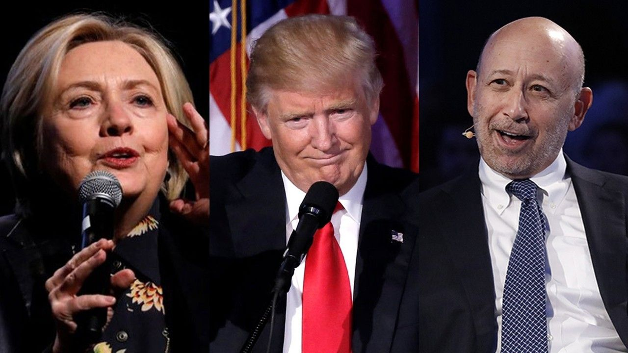 "Goldman Sachs (GS) CEO Lloyd Blankfein, a staunch Hillary Clinton supporter, stated that the economy is better off under President Donald Trump. ""If the president didn't win, and Hillary Clinton won…I bet you the economy is higher today than it otherwise would be,"" Blankfein told CNN Money, responding to a question on how much credit …"