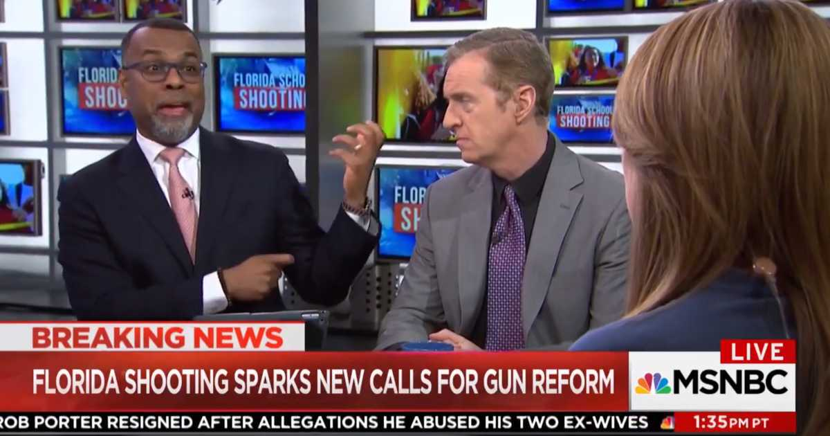 "On Thursday, Professor of Religion and African American Studies at Princeton, Eddie Glaude, appeared on MSNBC to discuss the Florida shooting. During the segment, Glaude called out the alleged ""toxic masculinity at the heart"" of America's ""gun culture."" – READ MORE FOLLOW US!"
