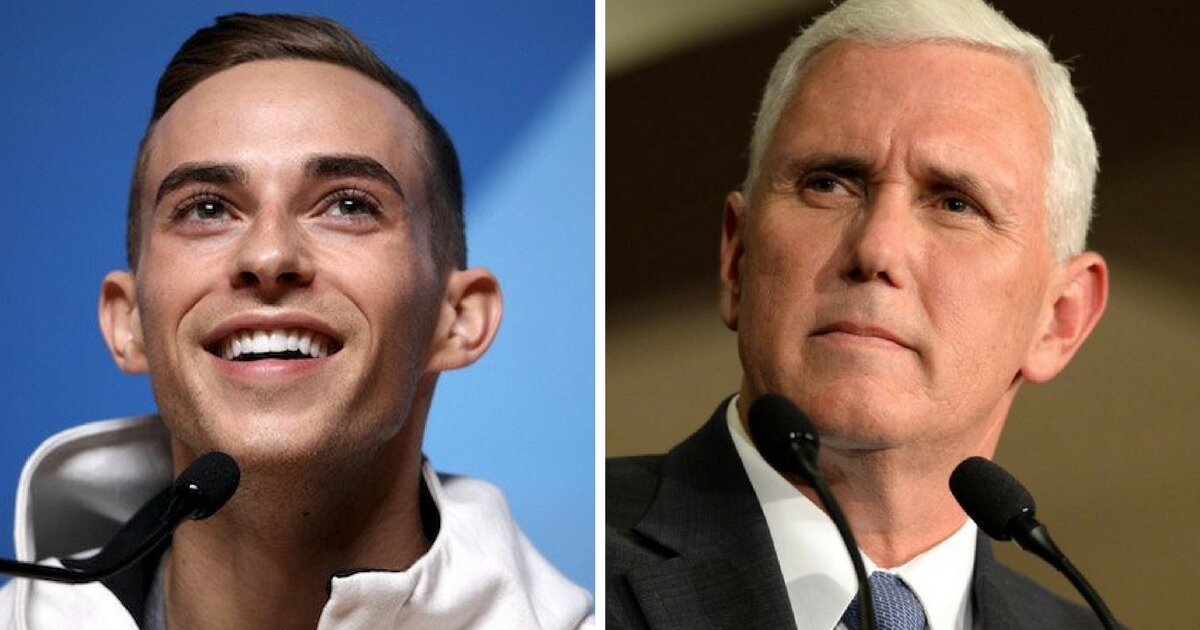 Olympian Adam Rippon Changes His Mind Now Wants to Meet With Mike Pence VIDEO
