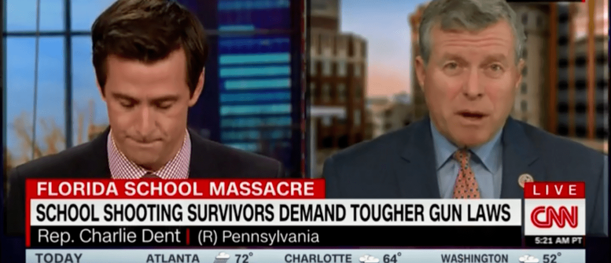 Republican Rep. Charlie Dent of Pennsylvania admitted the National Rifle Association (NRA) doesn't draw its power from political donations but from the size of its membership. Co-host Dave Briggs asked Dent if gun control measures were failing because of the NRA's monetary contributions to Congress, and Dent said he doesn't believe that to be true. …
