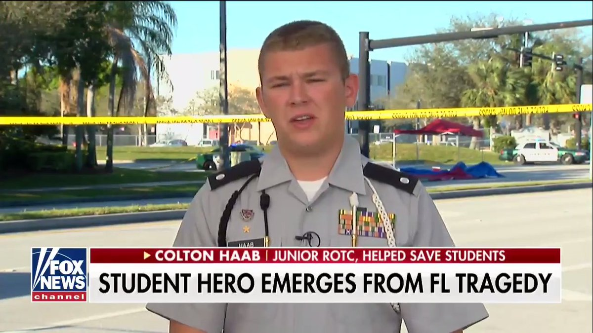 In the wake of the Marjory Stoneman Douglas High School shooting, Junior ROTC studentColton Haabisadvocating both for gun control and bringing gunson campus. During the shooting, he and fellow cadet Zackary Walls herded kids into the safety of aclassroomandcovered students with the curtains, which were made of the bullet resistant material Kevlar. He also devised …