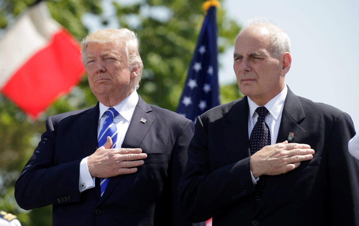 Chinese security officers attempted to stop the American military aide carrying the nuclear football from following President Trump into the Great Hall of the People in Beijing in November. Axios reported Sundaythe decision set off a chain of events that led chief of staff John Kelly to intervene and get in a physical altercation with …