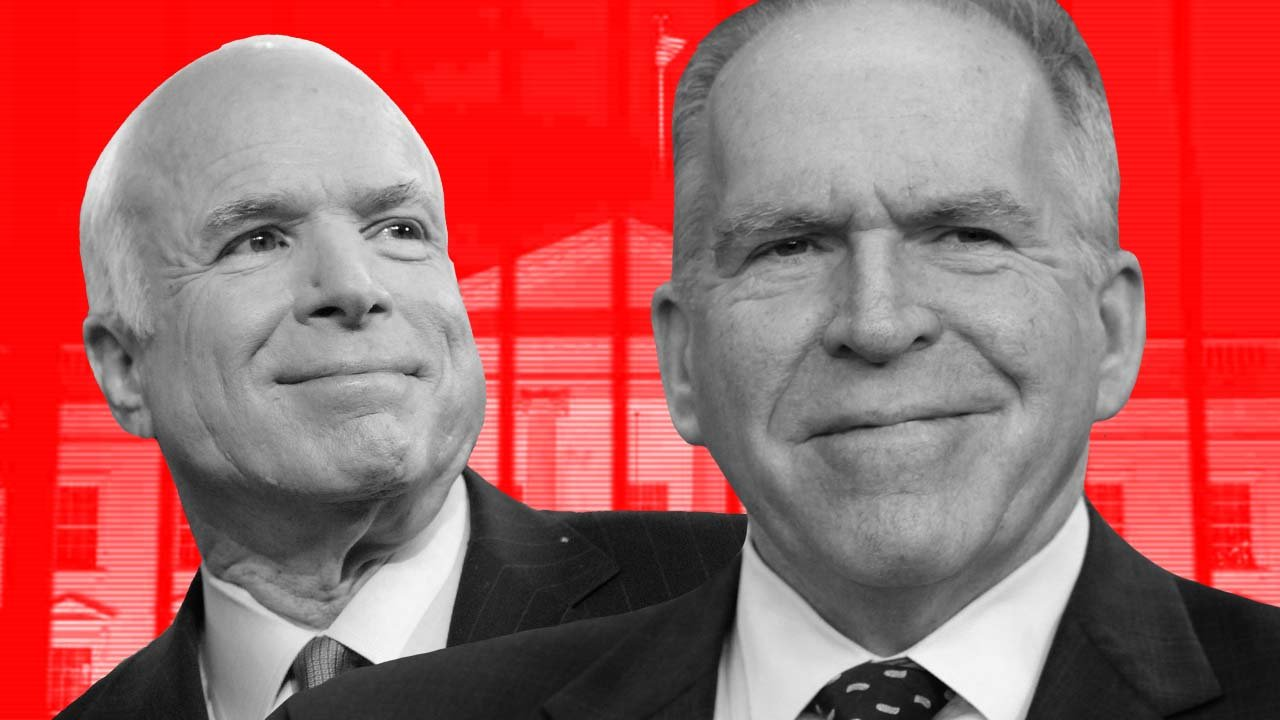 WHITE HOUSE Fingers CIA's Brennan and John McCain for Leaking Anti-Trump Intel & Waging Deep State Smear Campaign – True Pundit
