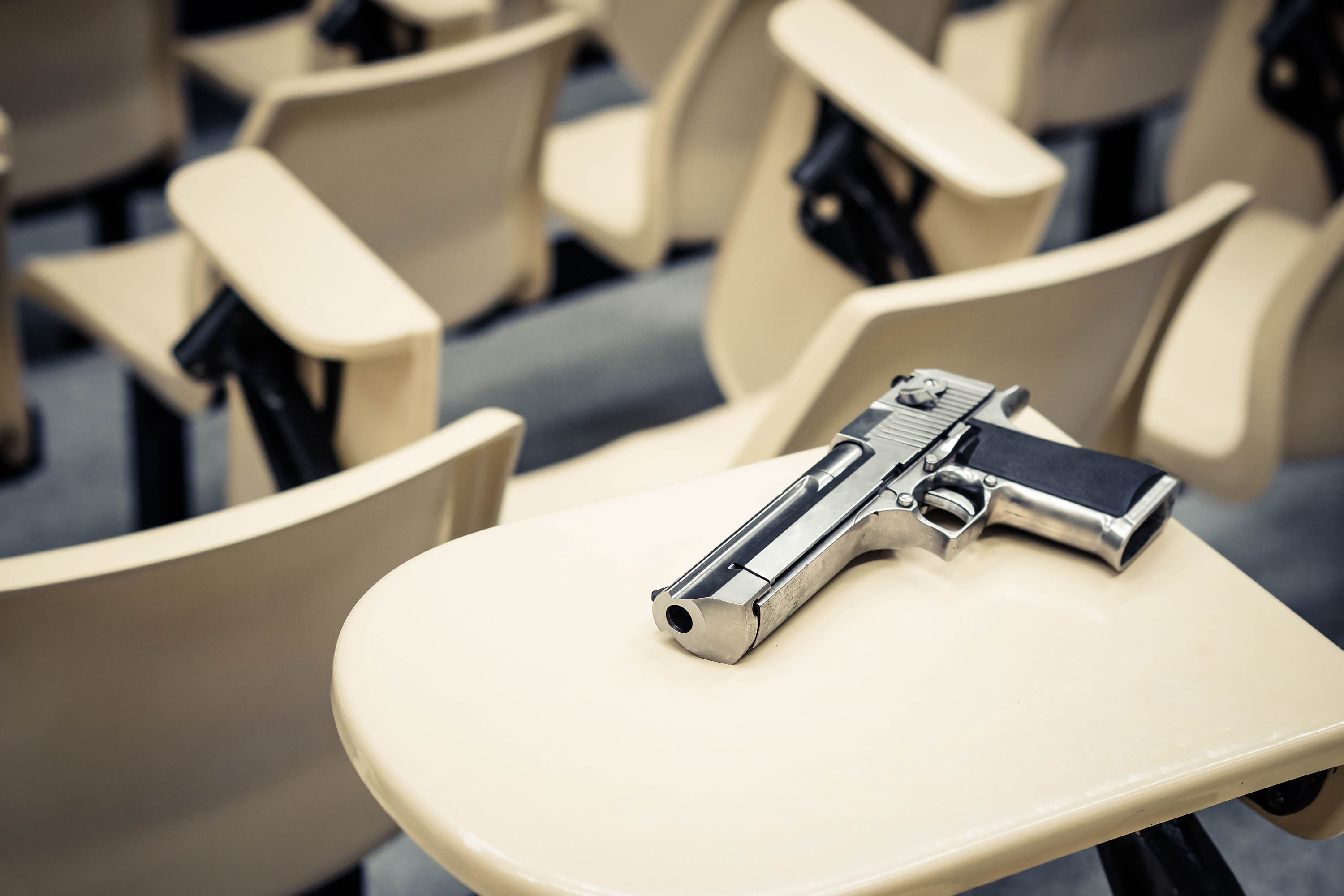 Florida Senate passes bill allowing some teachers to carry guns in schools restricting purchases