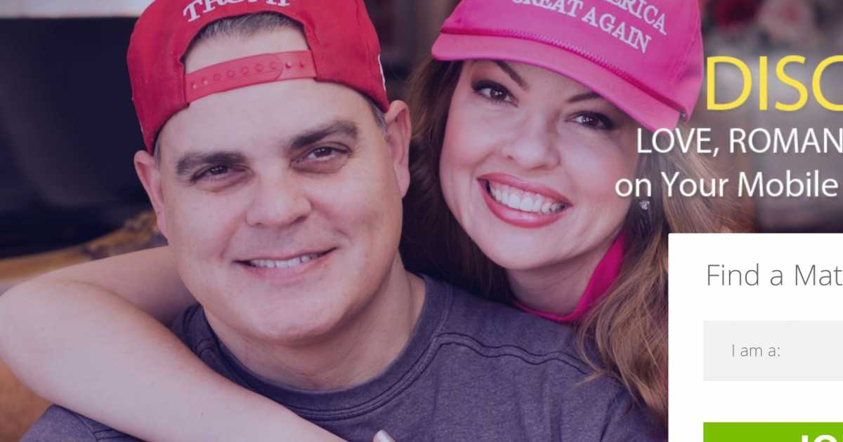 """Have you ever wanted to Make America Great Again, but were too afraid that you just couldn't do it alone? Well, a new site called """"Trump.Dating"""" promises to help you hook up with other Trump supporters — in more ways than one. The dating site, unveiled this week, promises to help the president's super-fans connect …"""