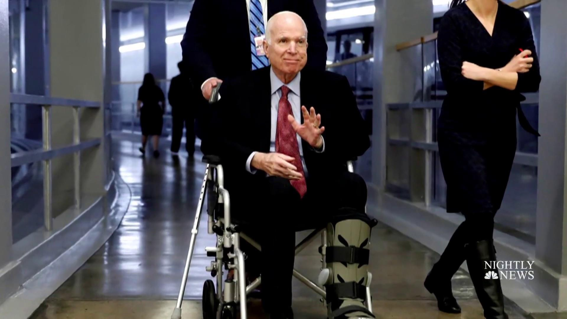 John McCain may never cast another vote in the U.S. Senate. But he plans to stay in Arizona and the U.S. Senate, according to a high-level White House source, regardless of GOP-backed pressure for him to retire from the Senate. Met with D.C. heavyweight source today very plugged in who said McCain refuses to step …