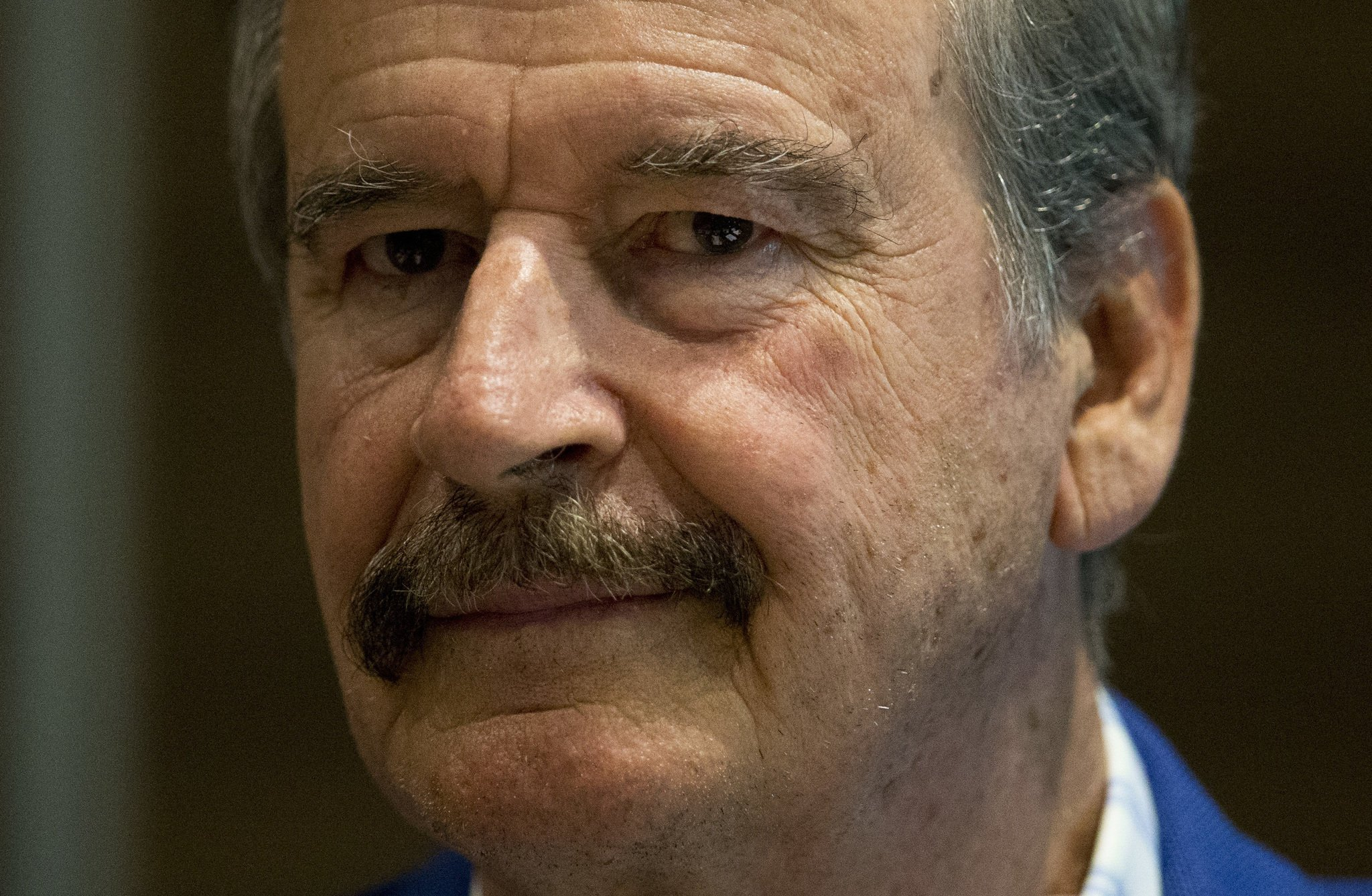 """Former Mexican President Vicente Fox offered his condolences to the victims of the Florida high school shooting before adding that the tragedy is """"what you get"""" with """"aggressive and violent language"""" from the Trump White House. """"When you speak out of the White House [with] this aggressive, violent language, when you discriminate, when you're a …"""