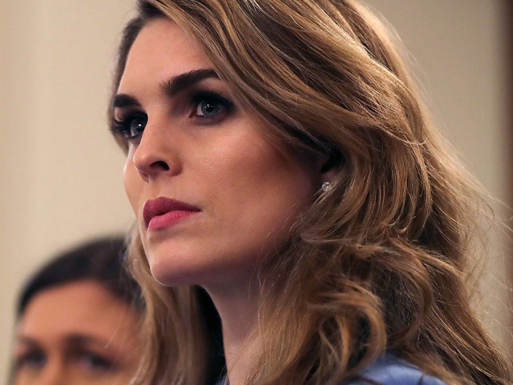 Hope Hicks tells House Intel one of her email accounts was hacked