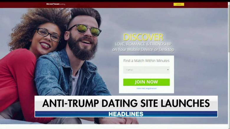 Liberal Group Launches AntiTrump Dating Site