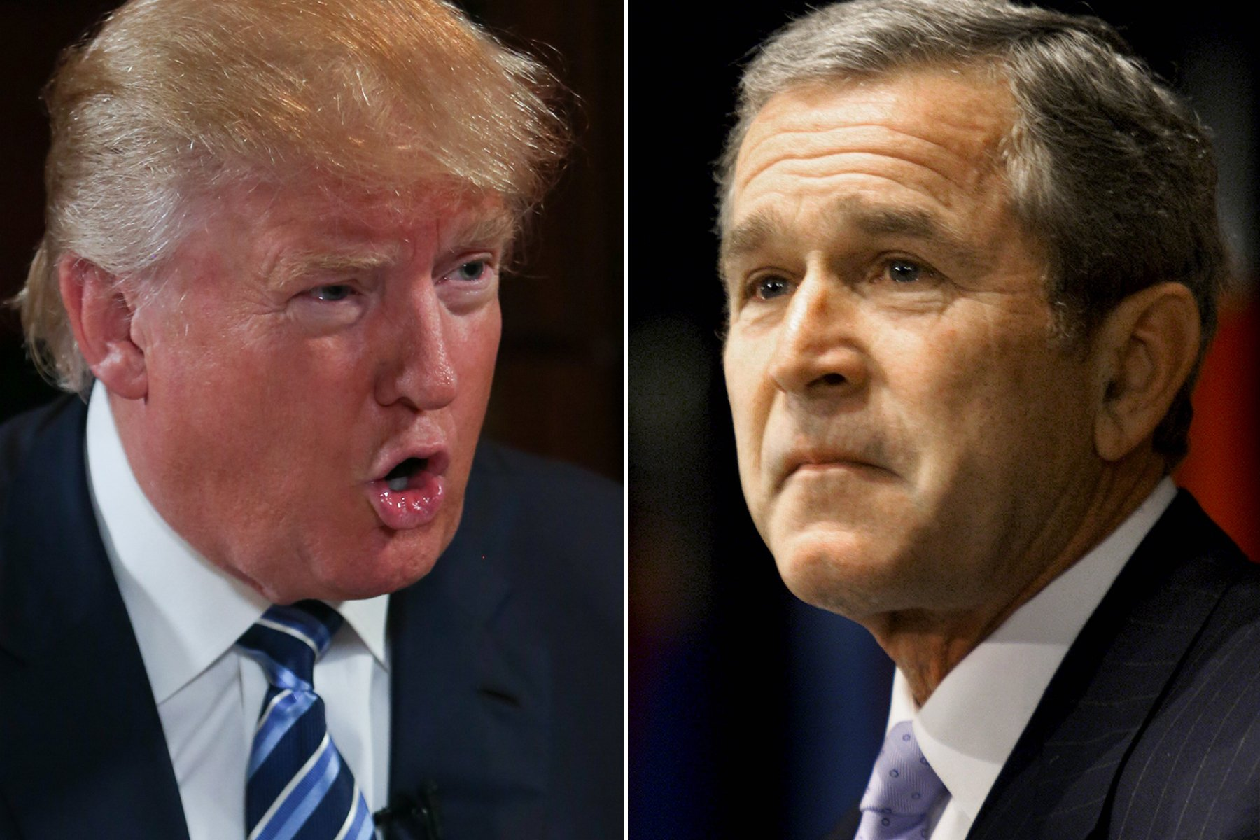 """President Trump slammed former President George W. Bush over the 2003 U.S. invasion of Iraq –referring to it as """"the single worst decision ever made,"""" and that it was comparable to""""throwing a big fat brick into a hornet's nest."""" Speaking to a group of GOP donors at a Mar-a-Lago closed door lunch and fundraiser, Trump …"""