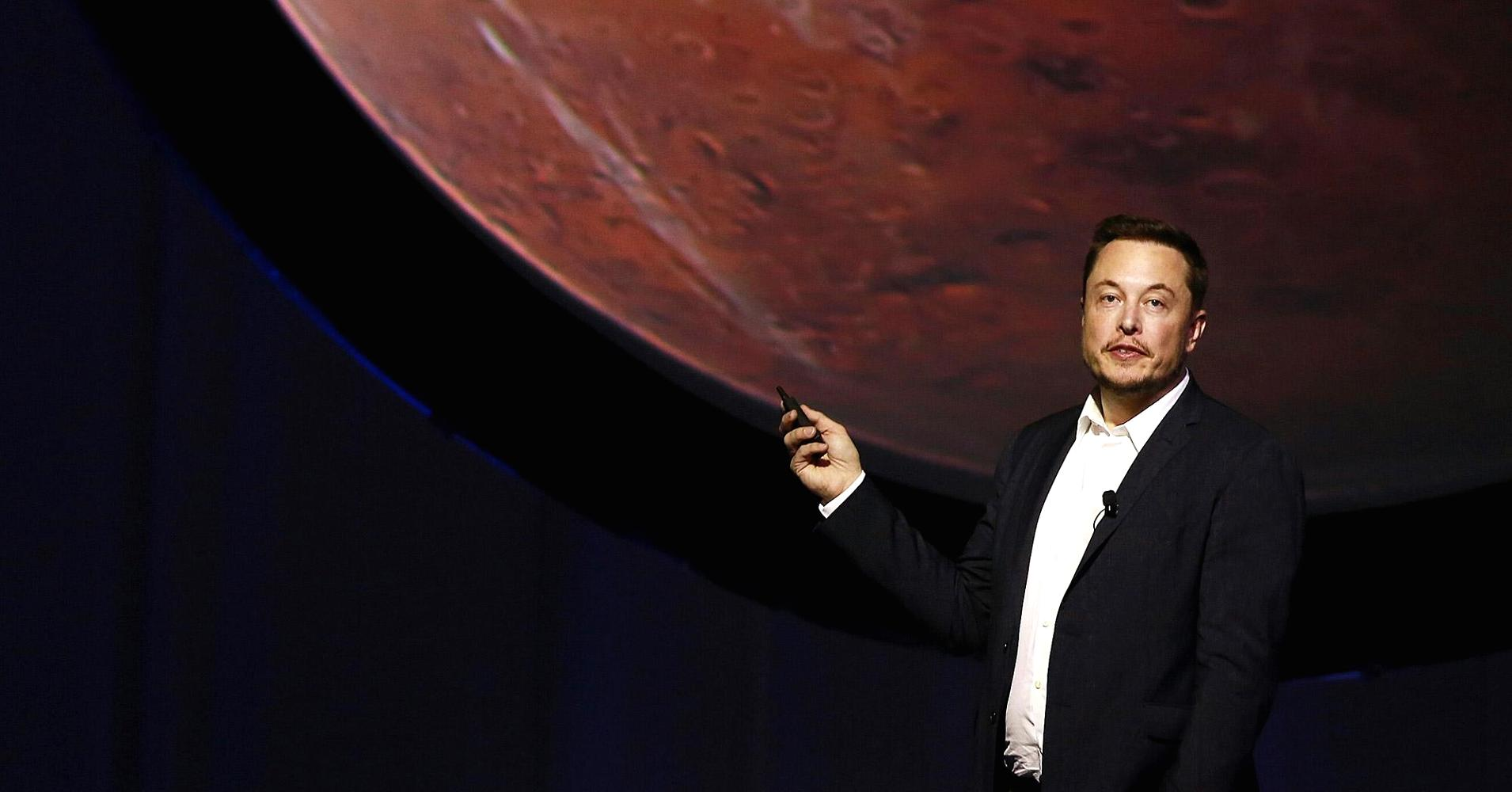 Elon Musk to first Mars travelers Good chance youll die