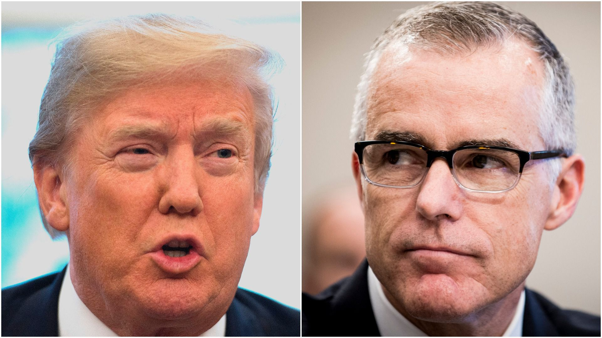 PAYBACK Trump Celebrates McCabe Firing in Vicious Take Down of Former FBI Boss A Great Day for Democracy