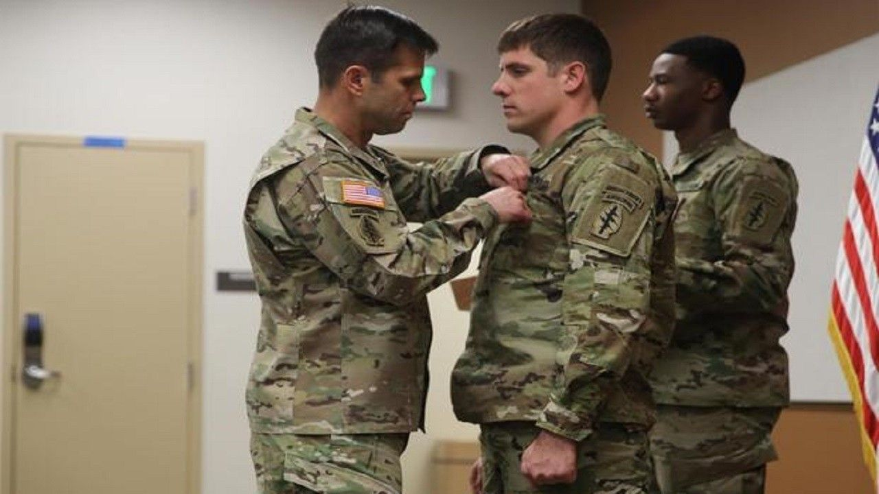 Soldiers Medal awarded to Special Forces member who saved 2 lives in North Carolina