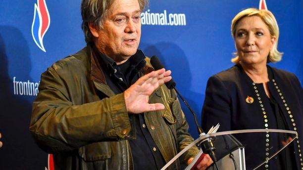 Bannon takes economic nationalism message to Europe