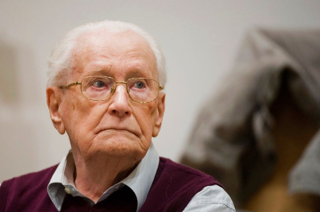 Nazi Oskar Groening Auschwitz death camp guard dies at age 96 before starting prison sentence
