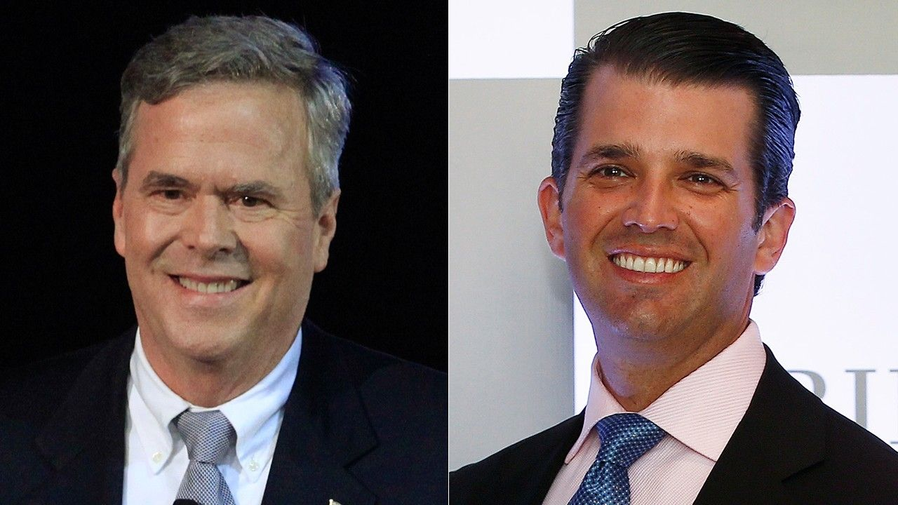 Donald Trump Jr unloads on Jeb Bush for quip about having kids who actually love me