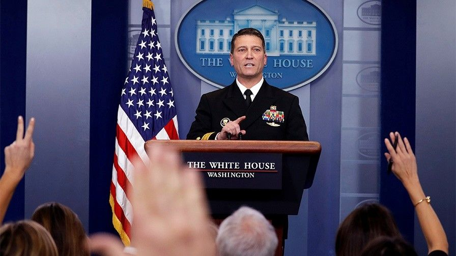 AntiTrump media melts down over Dr Ronny Jackson because he dared to give POTUS clean bill of health