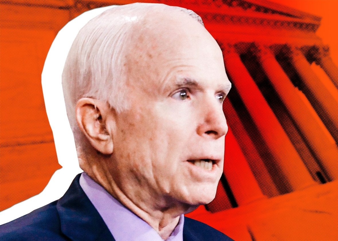 Family Releases Photo of Recuperating John McCain Rare Photo of Senator Since Departing DC Last Year
