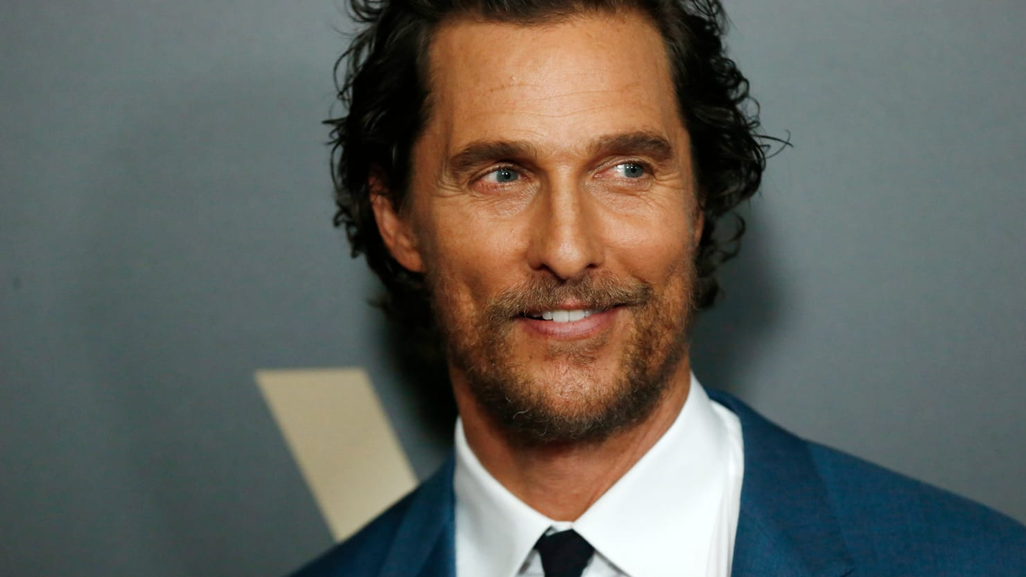 Matthew McConaughey at Texas Gun Control March Give Up Your Assault Weapons